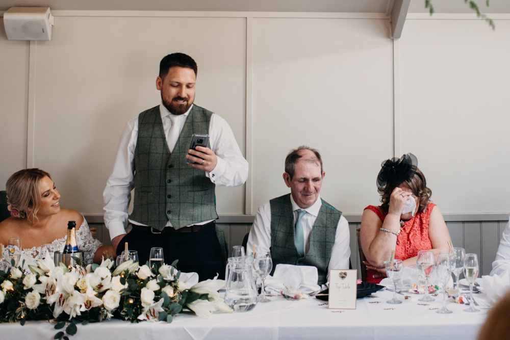 Blagdon Parlour Wedding photographer