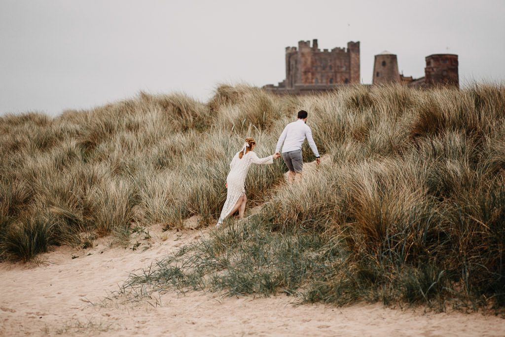 Bamburgh Castle Elopement