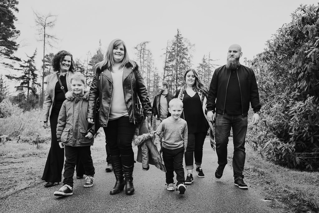 Mini session family photographer Northumberland