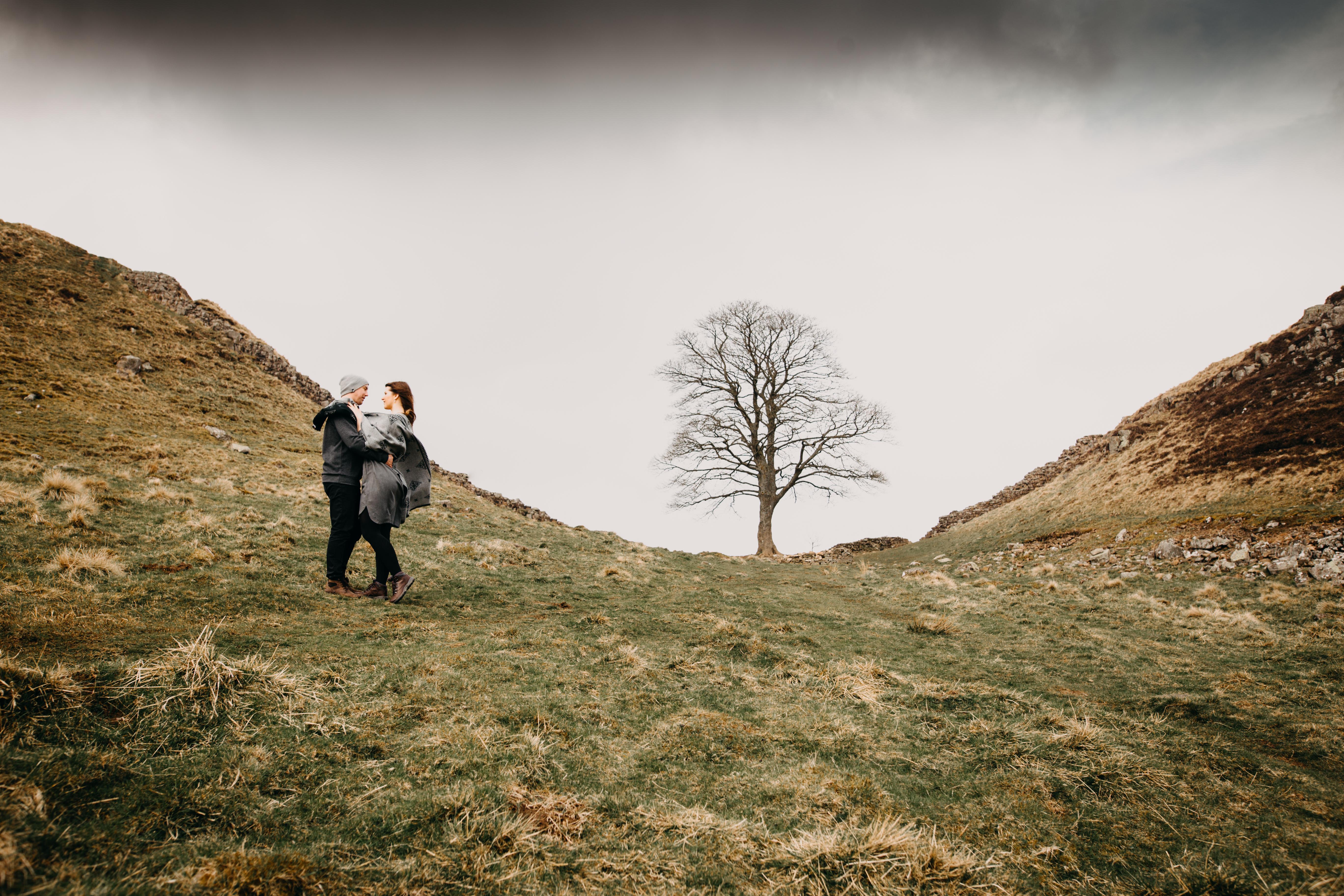 northumberland wedding photographer sycamore gap