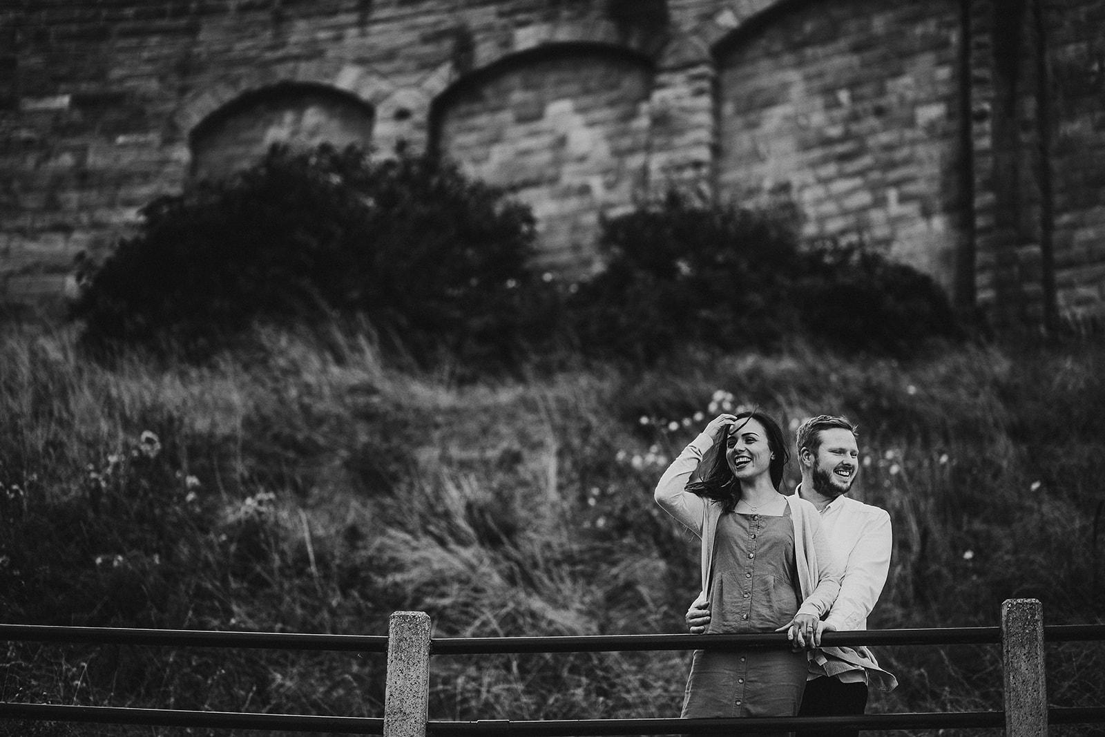 Tynemouth Engagement Shoot