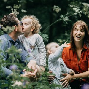 Woodland family session