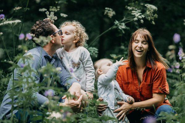 Woodland family session