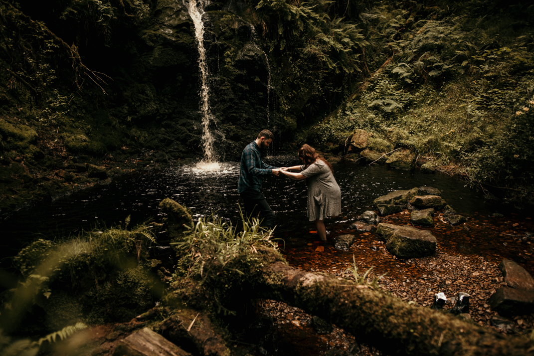 Northumberland Waterfall