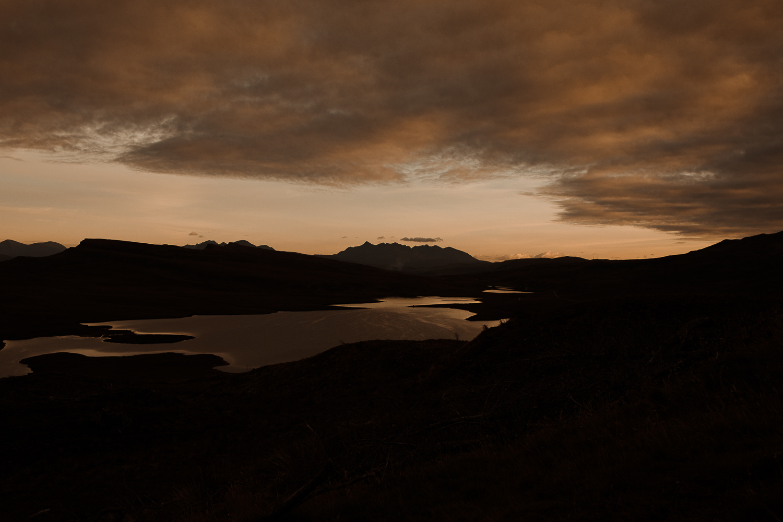 Isle of Skye elopement Old man of Storr