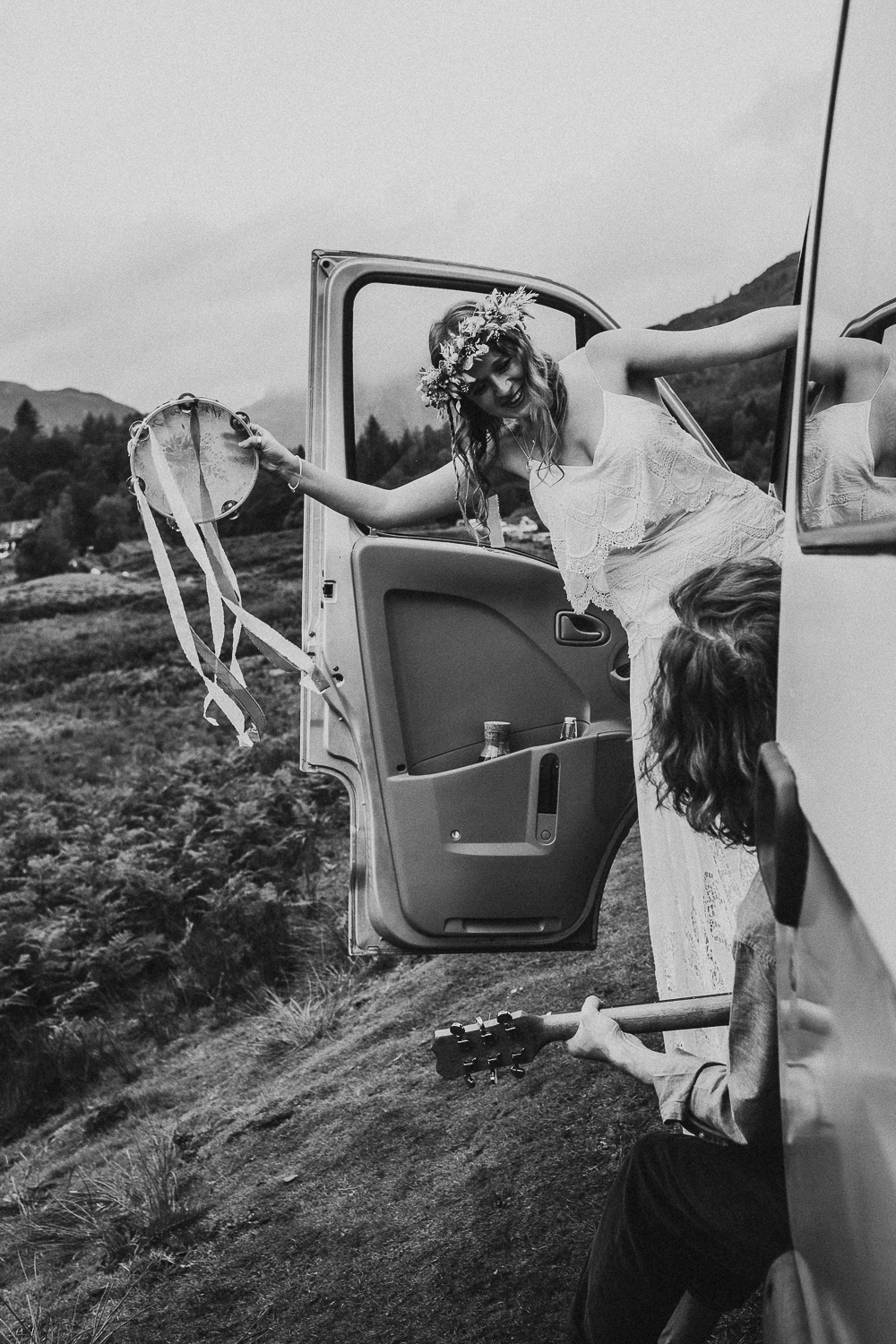 Intimate Van Life Elopement