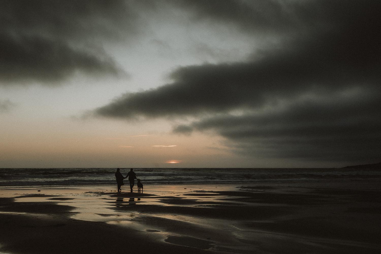 Beach Engagement Shoot Northumberland