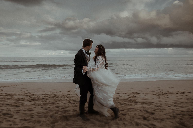 Druridge Bay Wedding Photographer