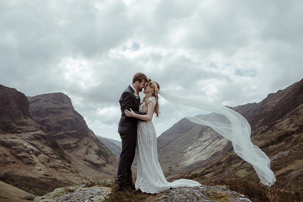 Glencoe Elopement Photographer